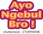 outline typographic techniques. ... | Shutterstock . vector #1710950548