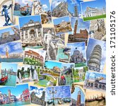 Stack Of Travel Images From...