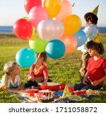 A Birthday Picnic With Kids An...