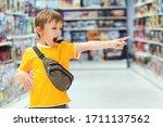 Boy Screams And Demands A Toy...