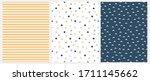 marine style seamless vector... | Shutterstock .eps vector #1711145662