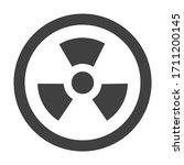 hazard symbol icon biological...   Shutterstock .eps vector #1711200145