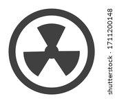 hazard symbol icon biological...   Shutterstock .eps vector #1711200148