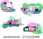 Cute Cabine And Houses...