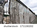 Remains Of The Berlin Wall ...