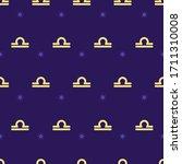 Zodiac Seamless Gold Pattern....