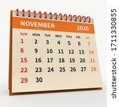 Standing Desk Calendar November ...