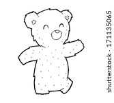 cartoon teddy bear | Shutterstock .eps vector #171135065