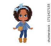 Beautiful Toddler Girl With Set ...