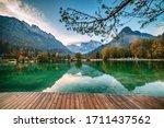 Jasna Lake With Beautiful...