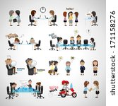 avatar,boss,bubble,business,businesswoman,cartoon,chair,chart,concept,corporate,crowd,designer,desk,document,dream