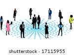 illustration of business people   Shutterstock .eps vector #17115955