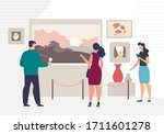 modern or classic artist... | Shutterstock .eps vector #1711601278