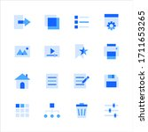 user interface icons for web...