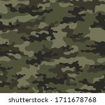 abstract seamless military camo ... | Shutterstock .eps vector #1711678768