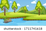 background scene with many... | Shutterstock .eps vector #1711741618