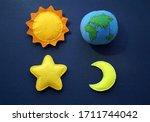 Space Soft Felt Toys  Planet...