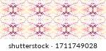 psychedelic ikat art. endless...   Shutterstock . vector #1711749028