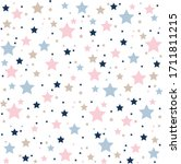 Pattern With Stars Of Different ...