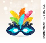 illustration colorful carnival... | Shutterstock .eps vector #171187466