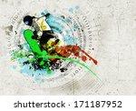 graffiti style image of...   Shutterstock . vector #171187952