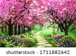 Pink Tree Wallpaper  Beautiful...
