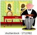 did you rang m'lord  | Shutterstock .eps vector #1711982