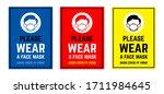vector attention sign... | Shutterstock .eps vector #1711984645