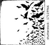bats  bats and more bats.   Shutterstock .eps vector #17119966