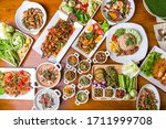 Many Kinds Of Local Thai Food...