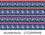 Christmas Pixel Pattern With...