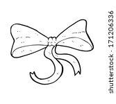cartoon bow | Shutterstock .eps vector #171206336