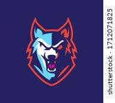 Wolf Esport Character Mascot...