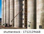 Old Vintage Abandoned Grain...