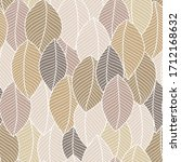 Soft Seamless Pattern Of Leaves....