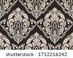 damask seamless pattern... | Shutterstock .eps vector #1712216242