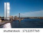 new york city  new york ... | Shutterstock . vector #1712257765