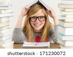 smiling student teenager... | Shutterstock . vector #171230072