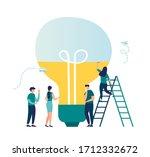 business concept vector... | Shutterstock .eps vector #1712332672