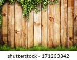fresh spring green grass and... | Shutterstock . vector #171233342