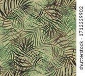 leaves pattern design...   Shutterstock .eps vector #1712339902