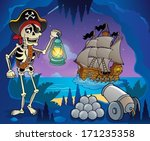 pirate cove theme image 6  ... | Shutterstock .eps vector #171235358
