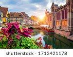 Colmar  Alsace  France. Petite...