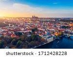 Aerial Prague Panoramic Drone...