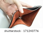 empty wallet on white background | Shutterstock . vector #171243776