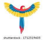 The Big Beautiful Aru Parrot...