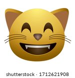 high quality emoticon.cute... | Shutterstock .eps vector #1712621908