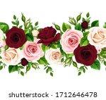 vector horizontal seamless... | Shutterstock .eps vector #1712646478