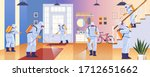 home disinfection by cleaning...   Shutterstock .eps vector #1712651662
