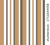 brown taupe vertical striped... | Shutterstock .eps vector #1712654458